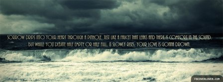 Love Drown Facebook Covers
