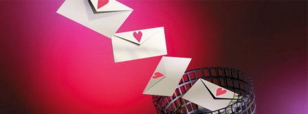 Love Letters 3d   Facebook Covers