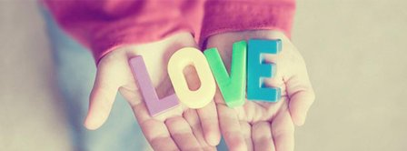 Love Letters In Kids Hands Facebook Covers