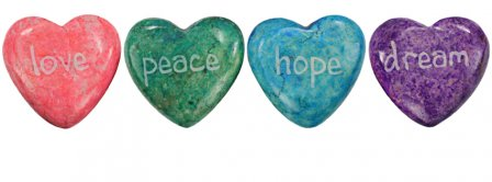 Love Peace Hope Dreams 3  Facebook Covers