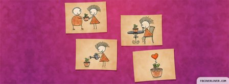 Love Plant Facebook Covers