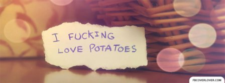Love Potatoes Facebook Covers