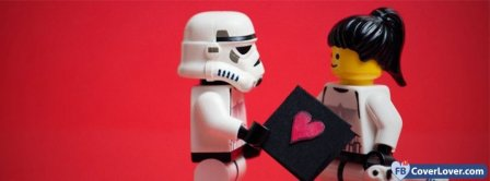 Love Stormtrooper And Lego Facebook Covers