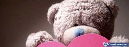 Love Teddy Bear Facebook Covers