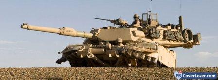 M1 Abrams Tank Facebook Covers