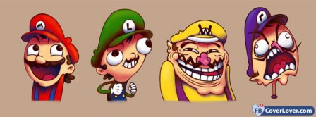 Mario And Friends   Facebook Covers