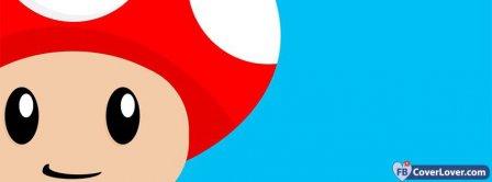 Mario Mushroom  Facebook Covers
