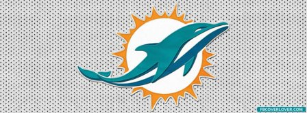 Miami Dolphins New Logo NFL Facebook Covers