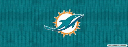 Miami Dolphins New Logo Facebook Covers