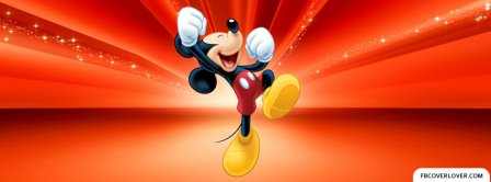 Magic Mickey Mouse Facebook Covers