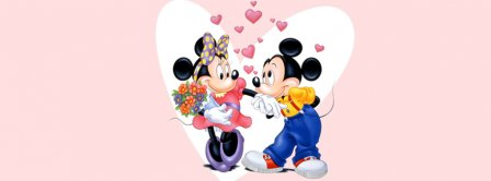 Mickey Mouse Love Fb Facebook Profile Timeline Cover Facebook Covers