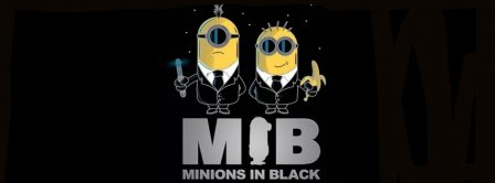 Minions In Black Facebook Covers