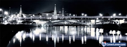 Moscow Night Facebook Covers