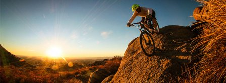 Mountainbike Facebook Covers