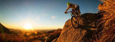 Mountainbike Facebook Covers