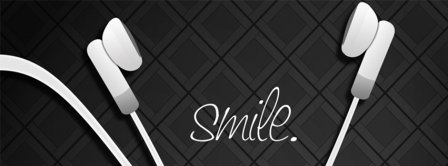 Music Makes Me Smile Facebook Covers