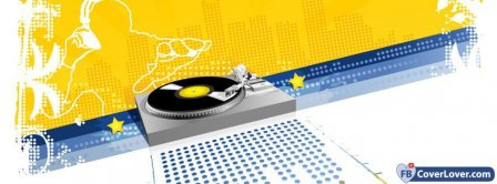Music Pickup With DJ Facebook Covers