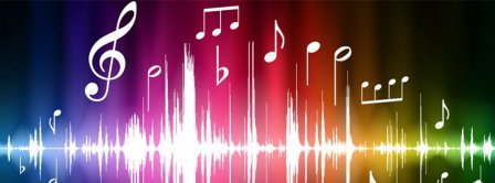 Music Sounds Colors  Facebook Covers