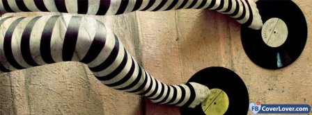 Vinyls And Zebra Legs Facebook Covers
