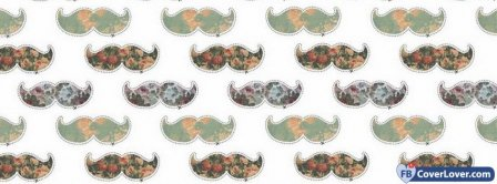 Mustache Background Facebook Covers