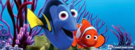 Finding Nemo Cartoon Fish   Facebook Covers