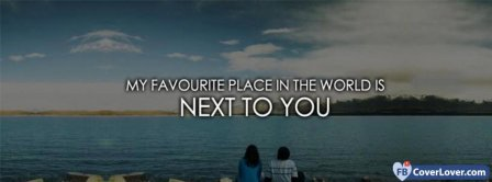 Next To You Facebook Covers