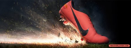 Nike Shoe Cleat Facebook Covers