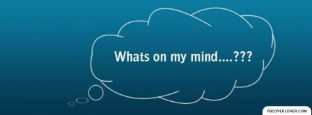 On My Mind   Facebook Covers