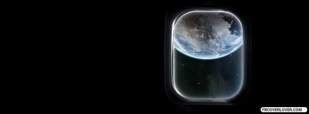 Outer Space View Earth Facebook Covers