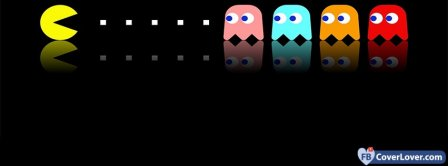 Pacman Eating  Facebook Covers