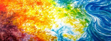 Colorful Painting Facebook Covers
