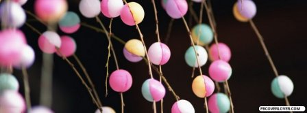 Abstract Party Decoration Facebook Covers