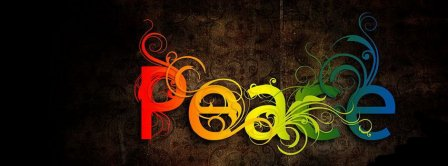Peace Color  Facebook Covers