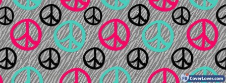 Peace Pattern 3  Facebook Covers