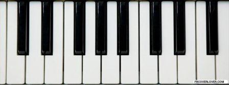 Piano Keyboard Facebook Covers