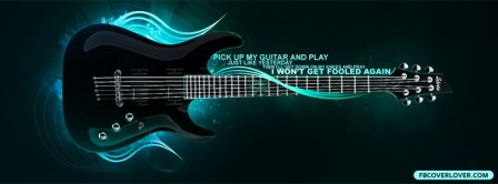 Pick Up My Guitar Facebook Covers