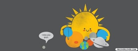 Pluto I Miss You Facebook Covers