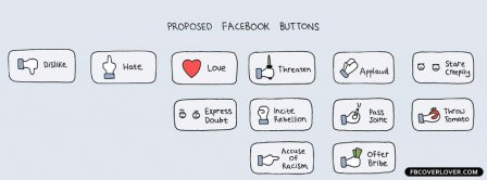Proposed Facebook Buttons Facebook Covers