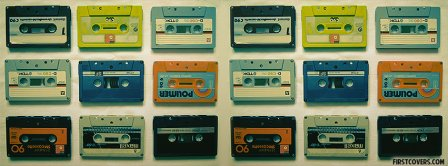 Retro Cassette Tapes Facebook Covers