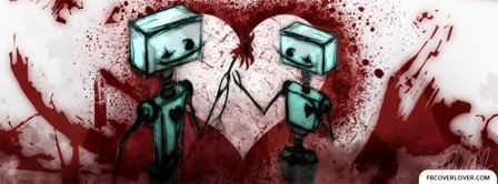 Robotic Love Facebook Covers