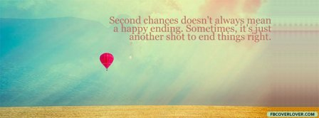 Second Chances  Facebook Covers