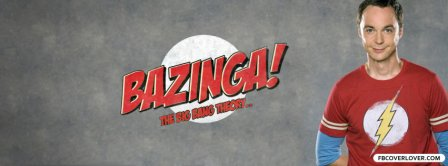 Sheldon Cooper Bazinga Facebook Covers