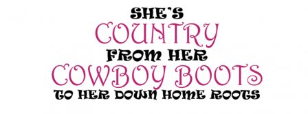 She Is Country Facebook Covers