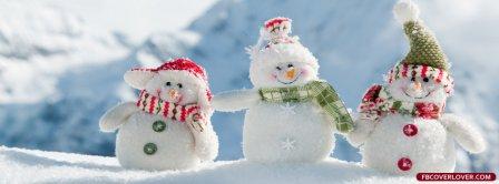 Snowman Friends Facebook Covers