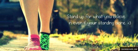 Stand Up For What You Believe Facebook Covers