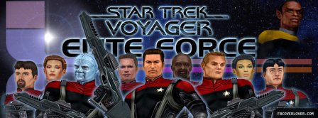 Star Trek Voyager Elite Force Facebook Covers