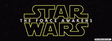 Star Wars - The Force Awakens Facebook Covers