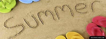 Summer Beach 2 Facebook Covers