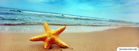 Summer Beach Starfish Facebook Covers