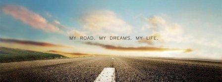Road Dreams Life  Facebook Covers